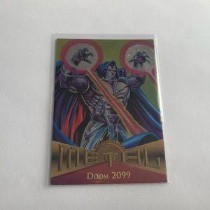 Doom 2099 '95 Fleer x Marvel Metal Card